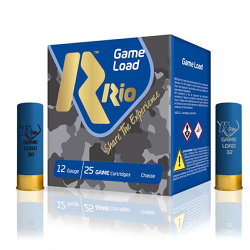 "Rio Super Game Load 12GA 2 3/4"", 1 1/8oz. 1280FPS, #7.5, 25RD"