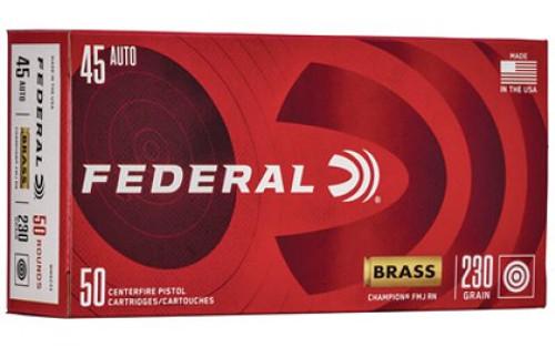 Federal Champion .45 ACP 230GR FMJ, 50RD