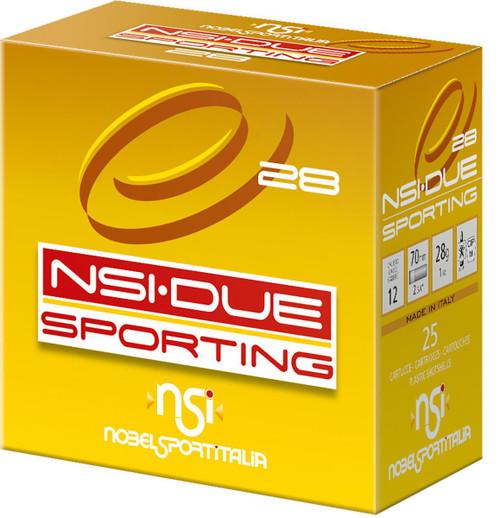 "Nobelsport  Sporting 12GA 2 3/4"", 1oz. #7.5 1315FPS  25RD,10 Box/Case,250RD/Case"