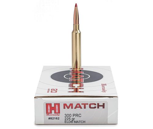 Hornady Match .300 PRC 225GR ELD, 20RD