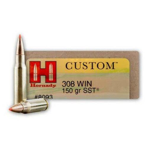 Hornady Custom .308 Winchester 150GR SST, 20RD