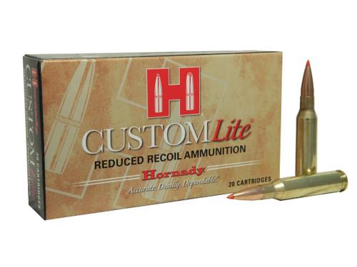 Hornady Custom Lite 7mm-08 Remington 120GR SST, 20RD