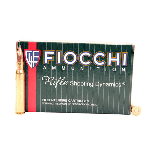 Fiocchi Field Dynamics .30-06 Springfield 150GR Pointed Soft Point, 20RD
