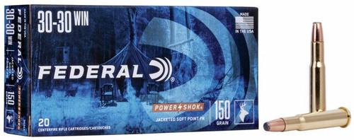 Federal Power Shok .30-30 Winchester 150GR, 20RD