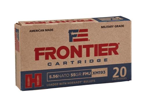 Hornady Frontier 5.56mm NATO 55GR FMJ, 20RD