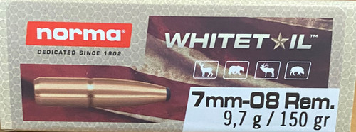 Norma Whitetail 7mm-08 Remington 150GR Soft Point, 20RD