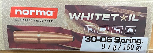 Norma Whitetail .30-06 Springfield 150GR Soft Point, 20RD