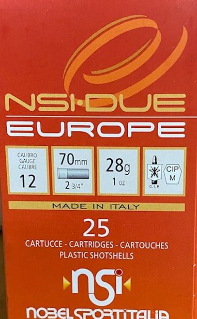 """Nobelsport Target  12GA 2 3/4"""", 1oz. #7.5,1250 FPS 25RD,  10Box/Case, 250RD/Case"""