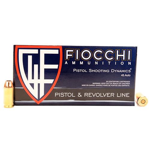Fiocchi Shooting Dynamics .45 Auto 230GR JHP, 50RD