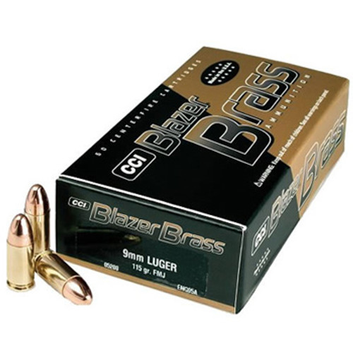 Blazer Brass .380 ACP 95GR, 50RD