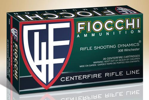 Fiocchi Range Dynamics .308 Winchester 150GR FMJ-BT, 20RD