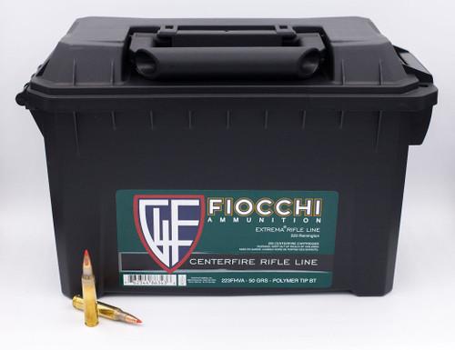 Fiocchi Extrema .223 Remington 50GR V-MAX, 200RD