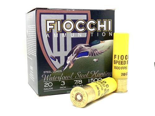 "Fiocchi Flyway Series Steel Shot 20GA 3"", 7/8oz #3, 25RD"