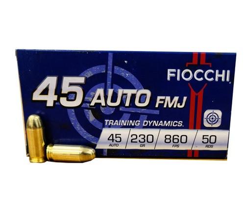 Fiocchi Training Dynamics .45 ACP 230GR FMJ, 50RD
