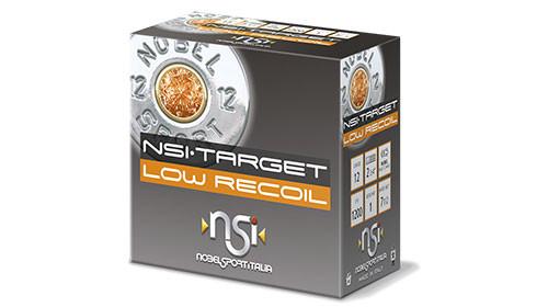 "Nobelsport Target Low Recoil 12GA 2 3/4"", 1oz. #7.5, 25RD, 10Box/Case, 250RD/Case"