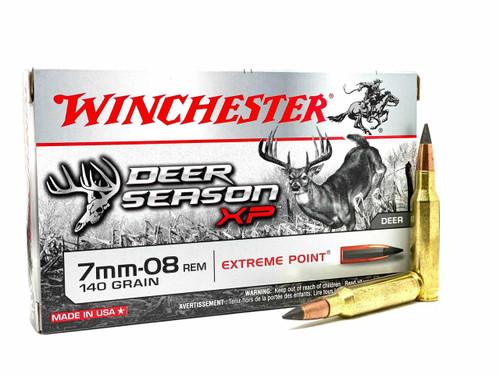 Winchester Deer Season XP 7mm-08  Remington 140GR Extreme Point, 20RD