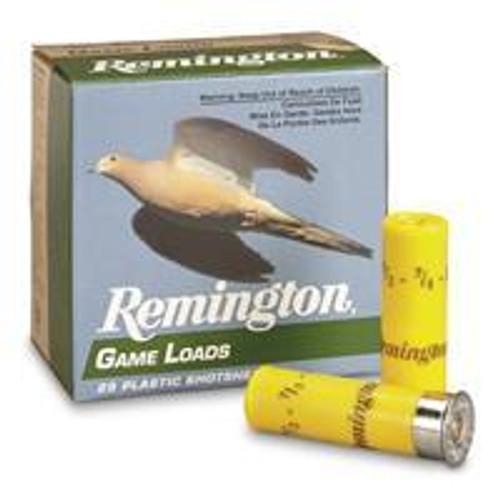 Remington GL207 20GA 2 3/4 7/8, 25RD, 10Box/Case, 1225FPS, 250RD /Case