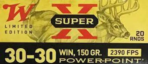 Winchester X3030100 30-30 Win 150gr PP 20RD Per Box