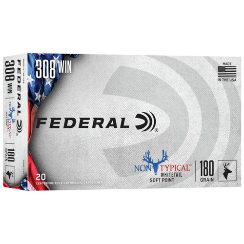 Federal NonTypical SP 308Win
