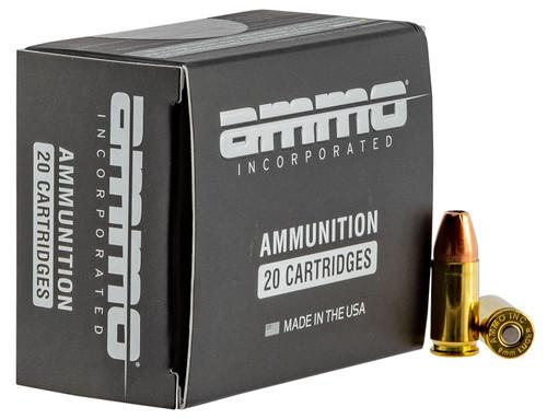 Ammo Inc 9mm 115gr JHP 20RD