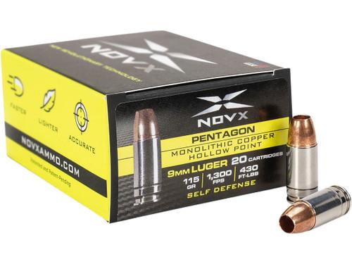 Novx Pent Steel 9mm 115 G 20RD