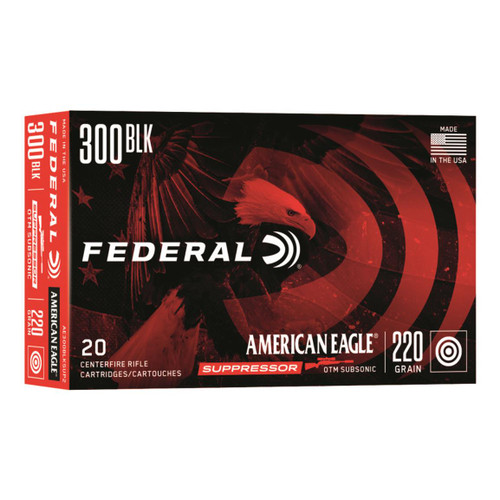 Federal American Eagle 300BLK  OTM Subsonic 220 GR
