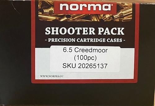 Norma 6.5 Creedmoor Brass Shooter Pack 100 Pack