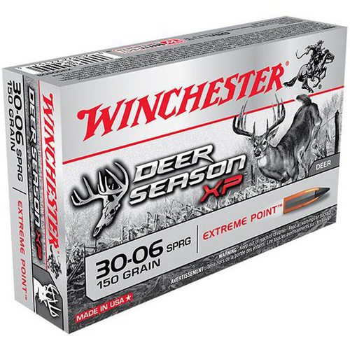 Winchester Deer Season XP 30-06 SPG 150GR Extreme Point  20RD Per Box