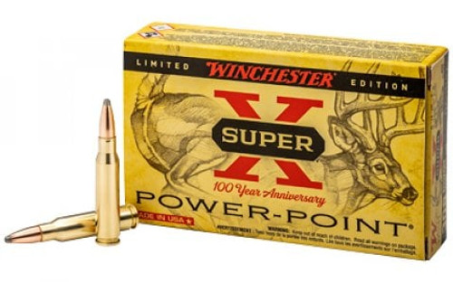 Winchester Super X 100 Year Anniversary 308 Win 150GR Power Point 2820 FPS 20 RD Per Box