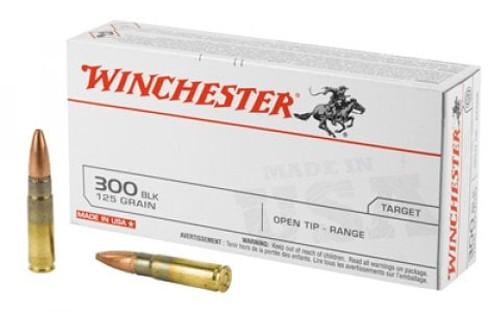 Winchester 300 Blackout 125GR FMJ Open Tip  20RD Per Box