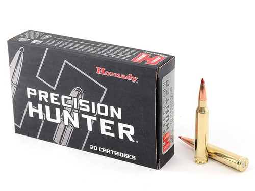 Hornady Precision Hunter 7mm Rem Mag 162GR, ELD-X 20RD Per Box
