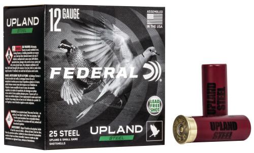 Federal Upland High Performance Steel 12GA 2 3/4, 1400FPS , 1 1/8oz 7.5