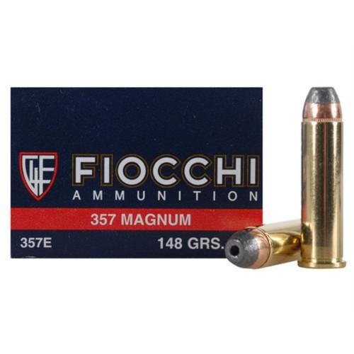 Fiocchi 357 Magnum 148GR, JHP 50RD Per Box