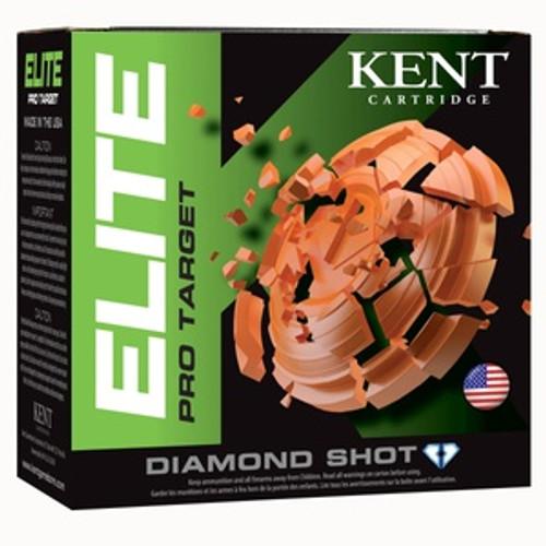 """Kent Elite Pro Target 12GA 2 3/4"""", 1oz. 1290FPS, #7.5, 25RD, 10Box/Case, 250RD/Case"""