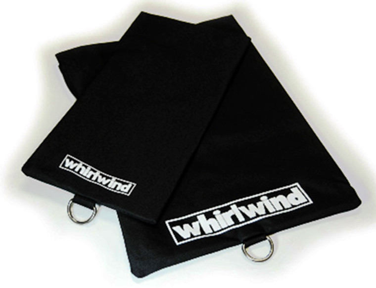 Whirlwind PIGBAGS - These heavy-duty nylon bags with Velcro strap closures protect cable ends.