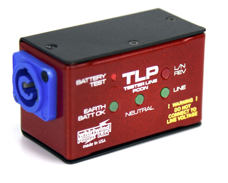 Whirlwind TLP POWERCON Power Cord Tester