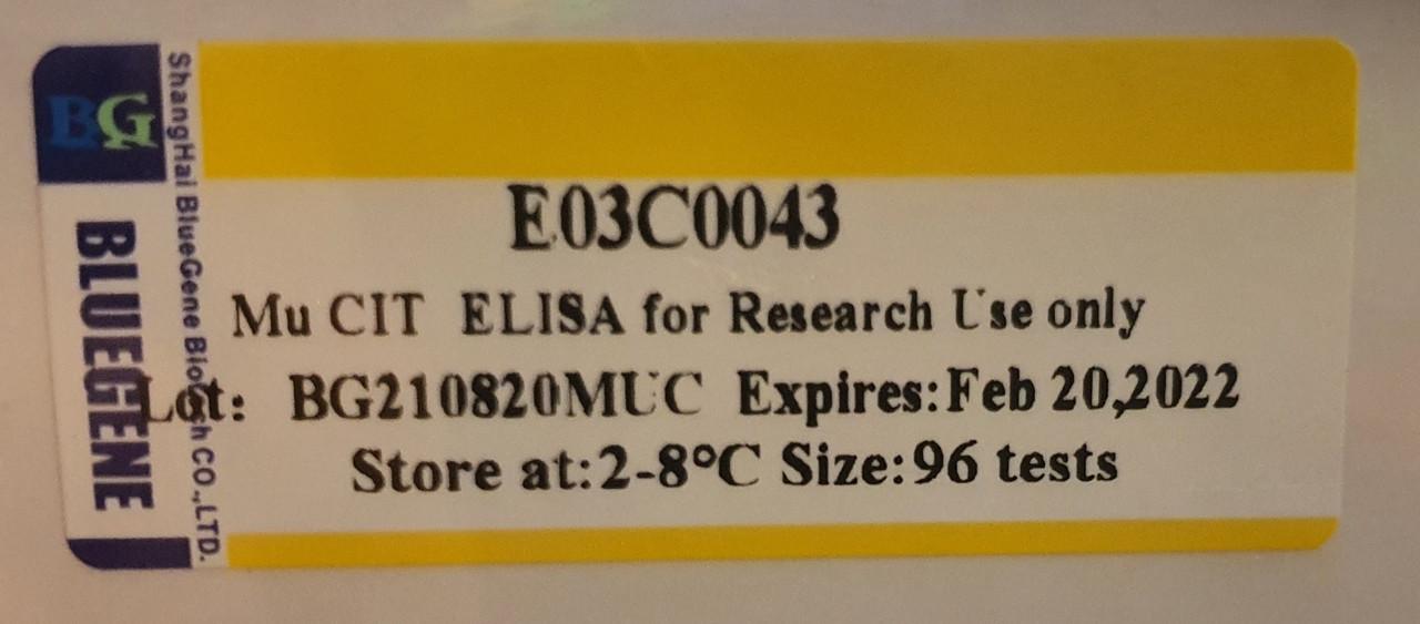 Citrulline ELISA kit