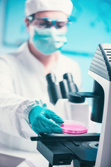 What contains a serum for cell culture ?