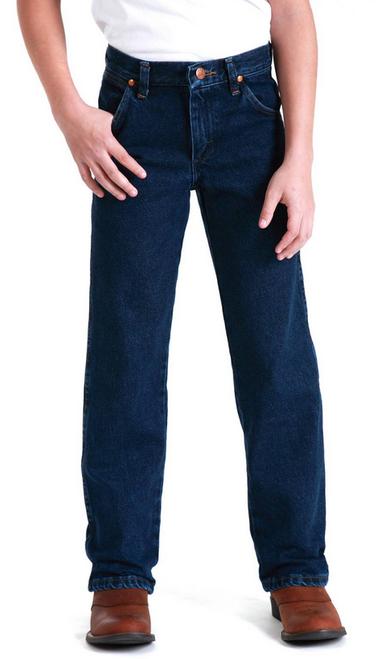 Wrangler 13MWZBP Kids Prewashed Cowboy Cut Original Fit Jeans Sizes 8-16  (Bulk Deal, Buy 4 for $64.95 Each!)