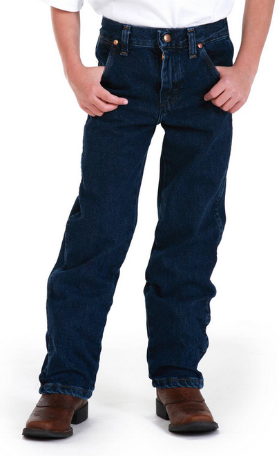 Wrangler 13MWZJP Kids Prewashed Cowboy Cut Original Fit Jeans Sizes 1-7 (Bulk Deal, Buy 4 for $54.95 Each!)
