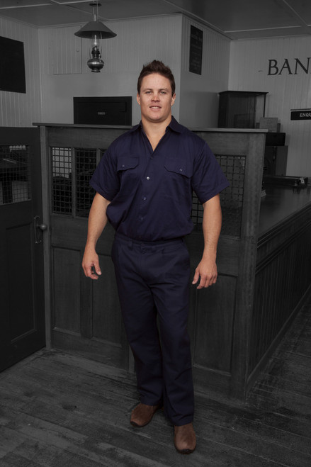 Strongback Navy Trousers