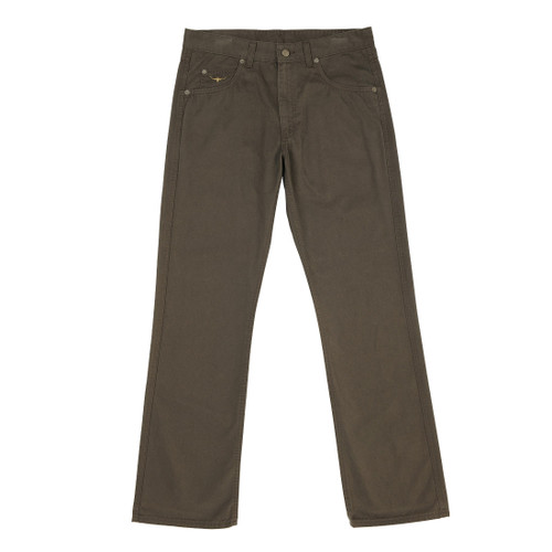 RM Williams TJ781 Linesman Sueded Cotton Drill Regular Fit/Low Rise in Silt