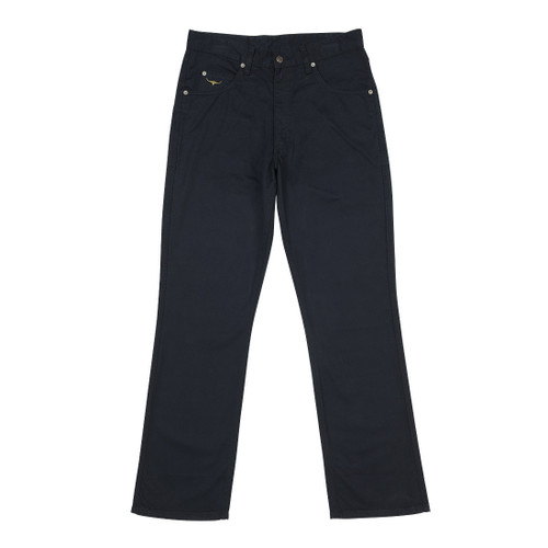 RM Williams TJ781 Linesman Sueded Cotton Drill Regular Fit/Low Rise in Navy