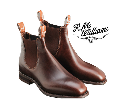 RM Williams Comfort Craftsman in Rum B543Y