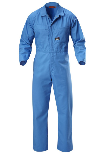 Yakka Poly Cotton Coverall Blue Medit