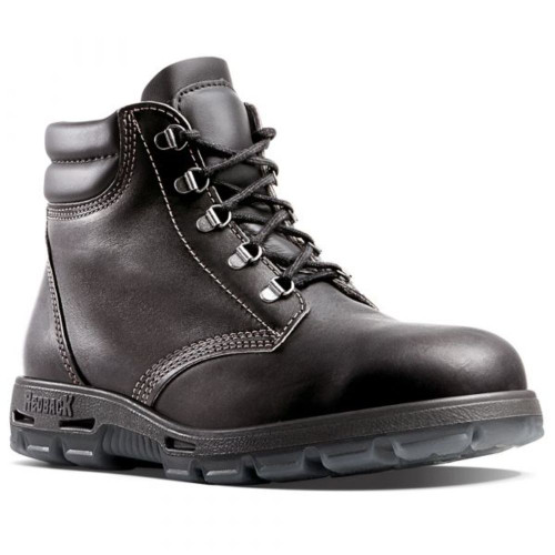 Redback Steel Cap Lace Up Boot Claret USAOK