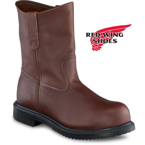 """Redwing 9"""" Steel Toe Pull On Boot 8241"""