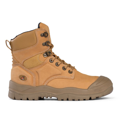 Mongrel Safety 7 Hole Lace Up Boots in Wheat 550050