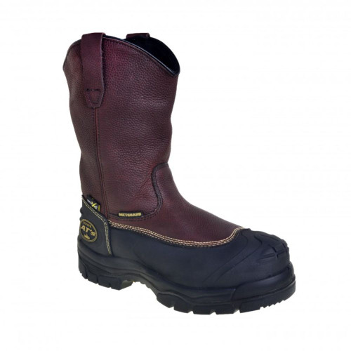 Oliver Rigger Steel Toe Pull On  Boots Brown 65493