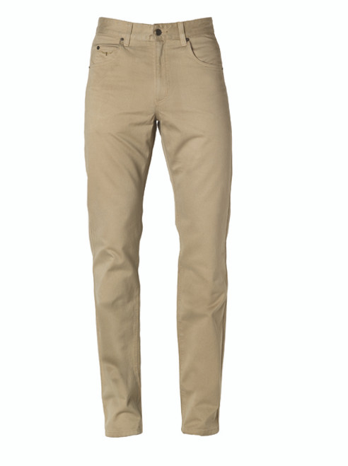 RM Williams TJ781 Linesman Sueded Cotton Drill Regular Fit/Low Rise in Buckskin